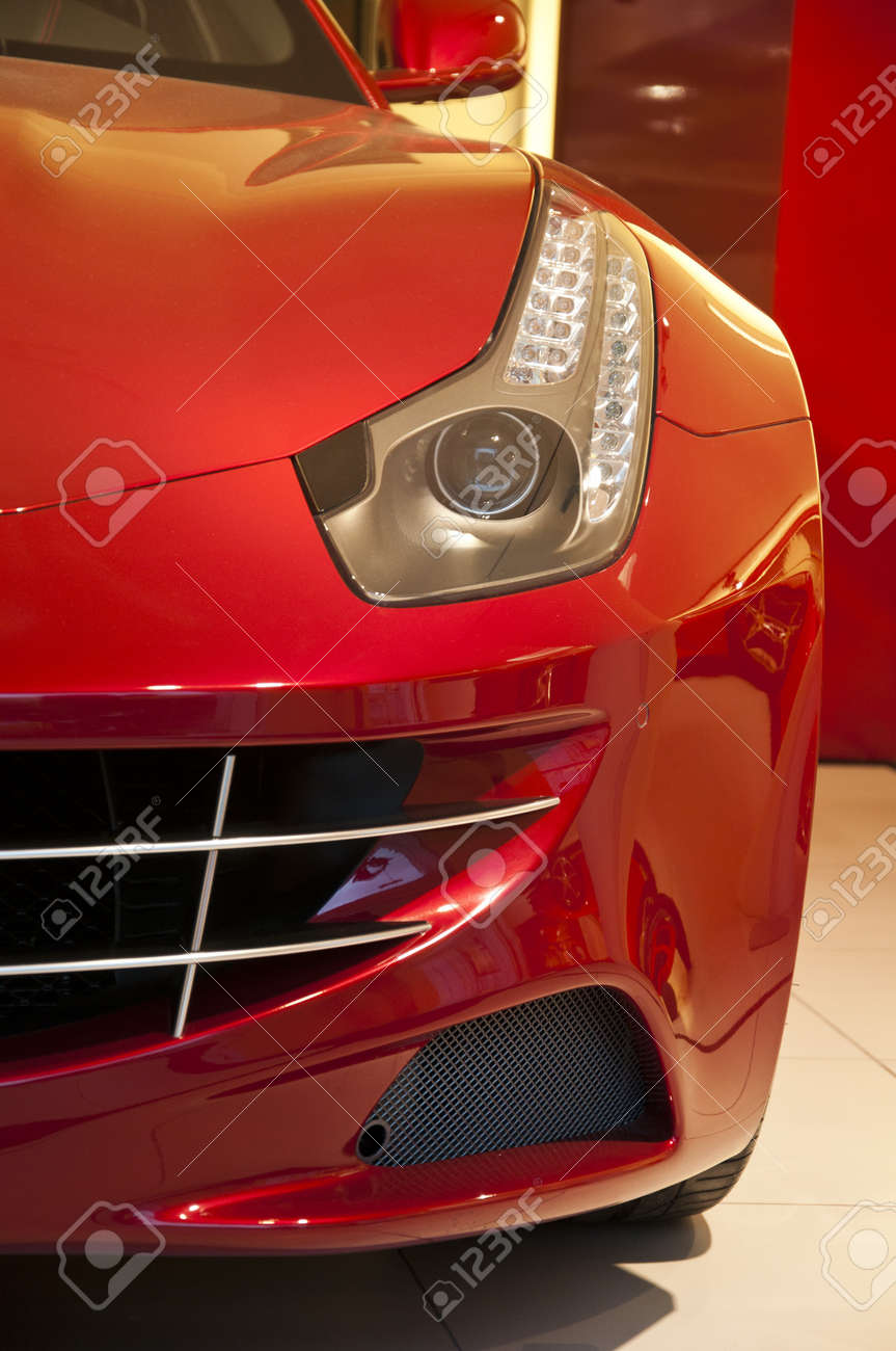 Beautiful sports car Stock Photo - 13375321