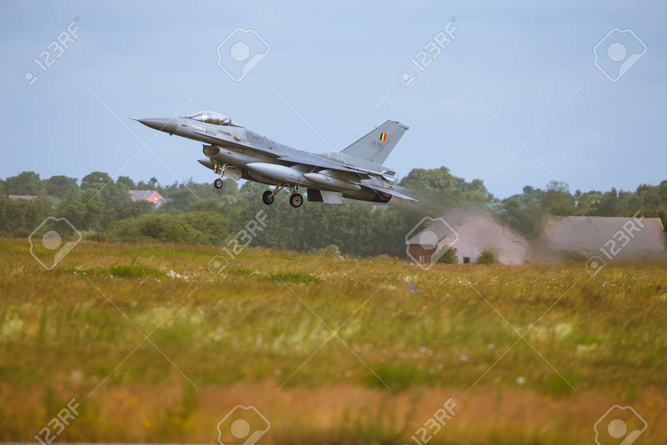 Schleswig - Jagel, Germany - June 19, 2014:Belgium - Air Force