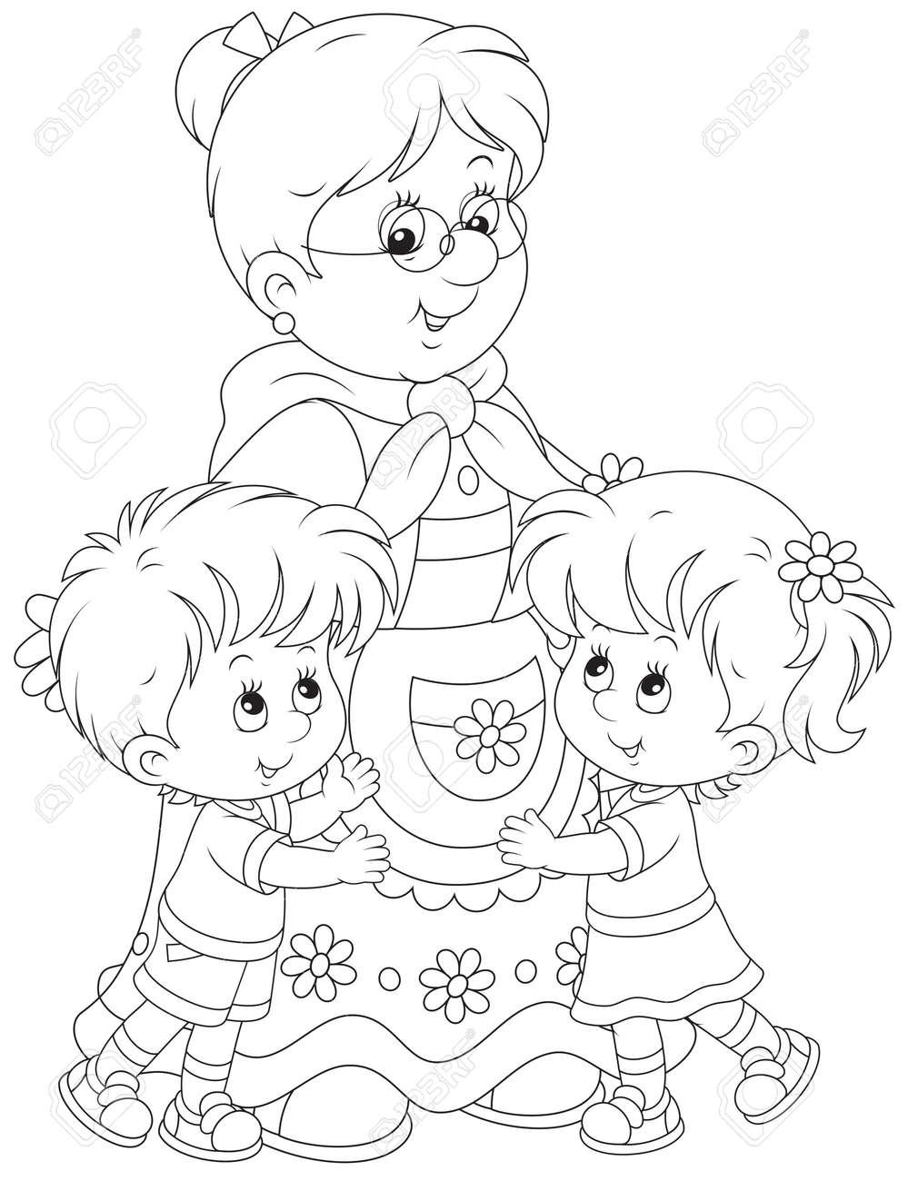 Granny and her grandchildren - 27448837