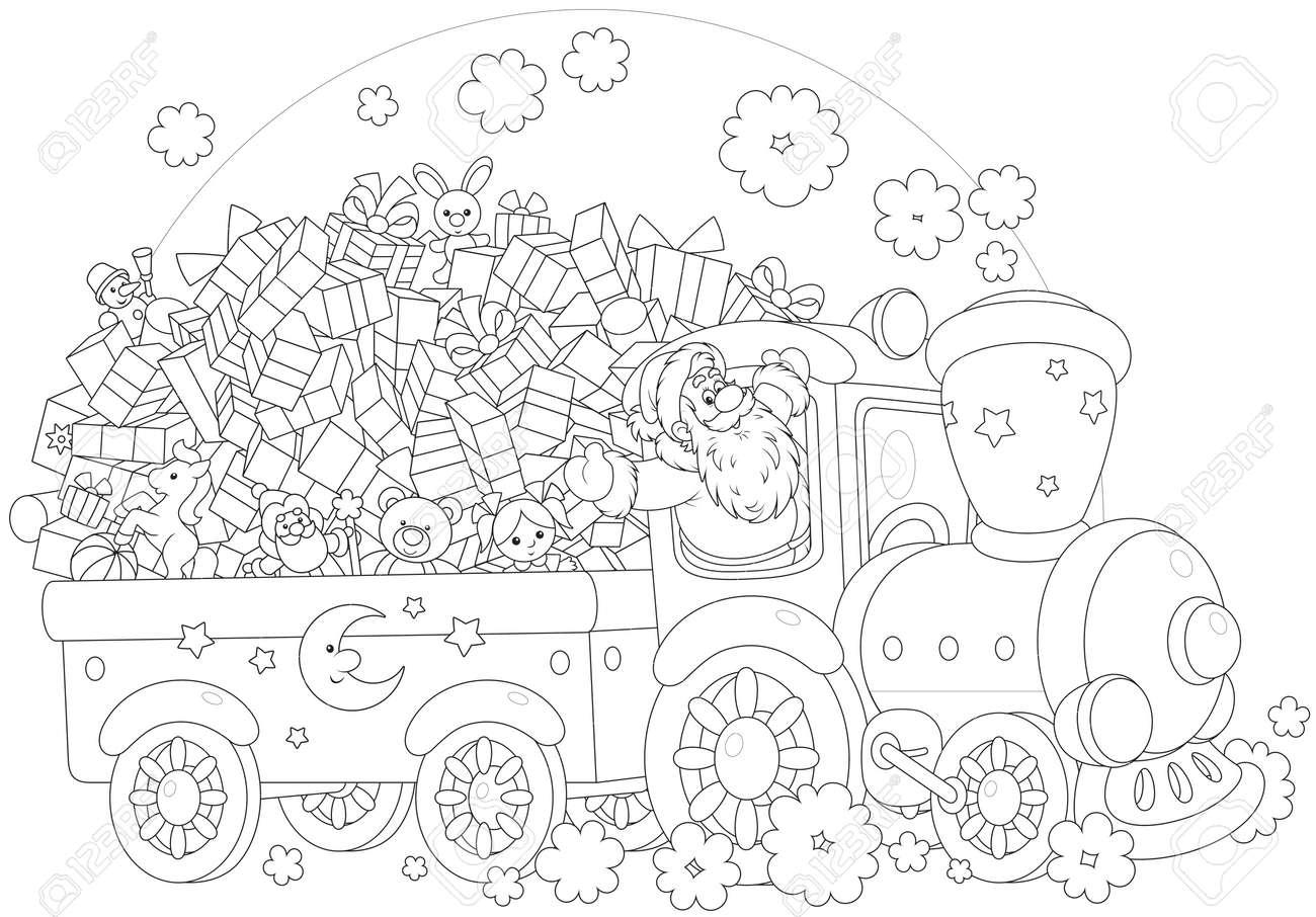 Excepcional Thomas El Tren Navidad Para Colorear Friso - Ideas Para ...