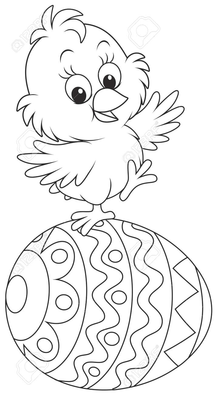 Easter chick - 36512097