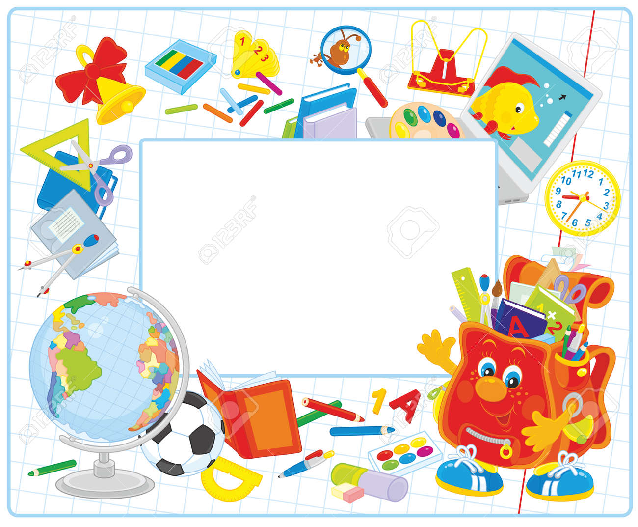 School frame - 53764944