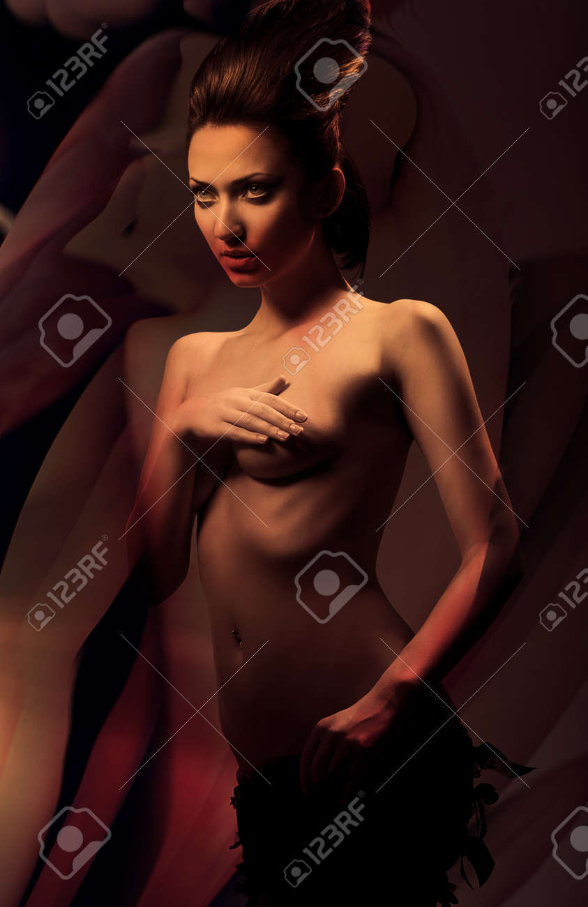 Adult erotic nude photo stock 1