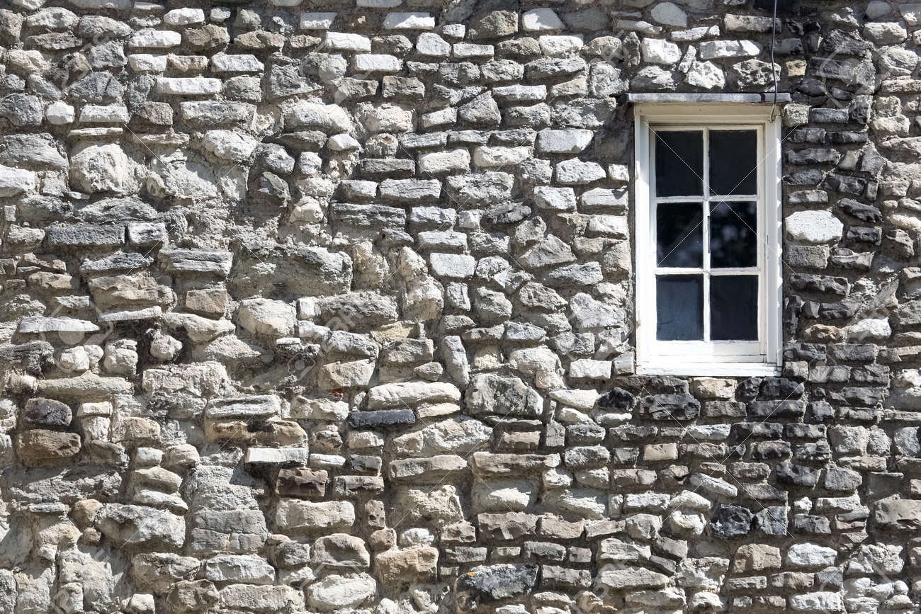 Fragment of the Tower fortress at London with window Stock Photo - 12682325