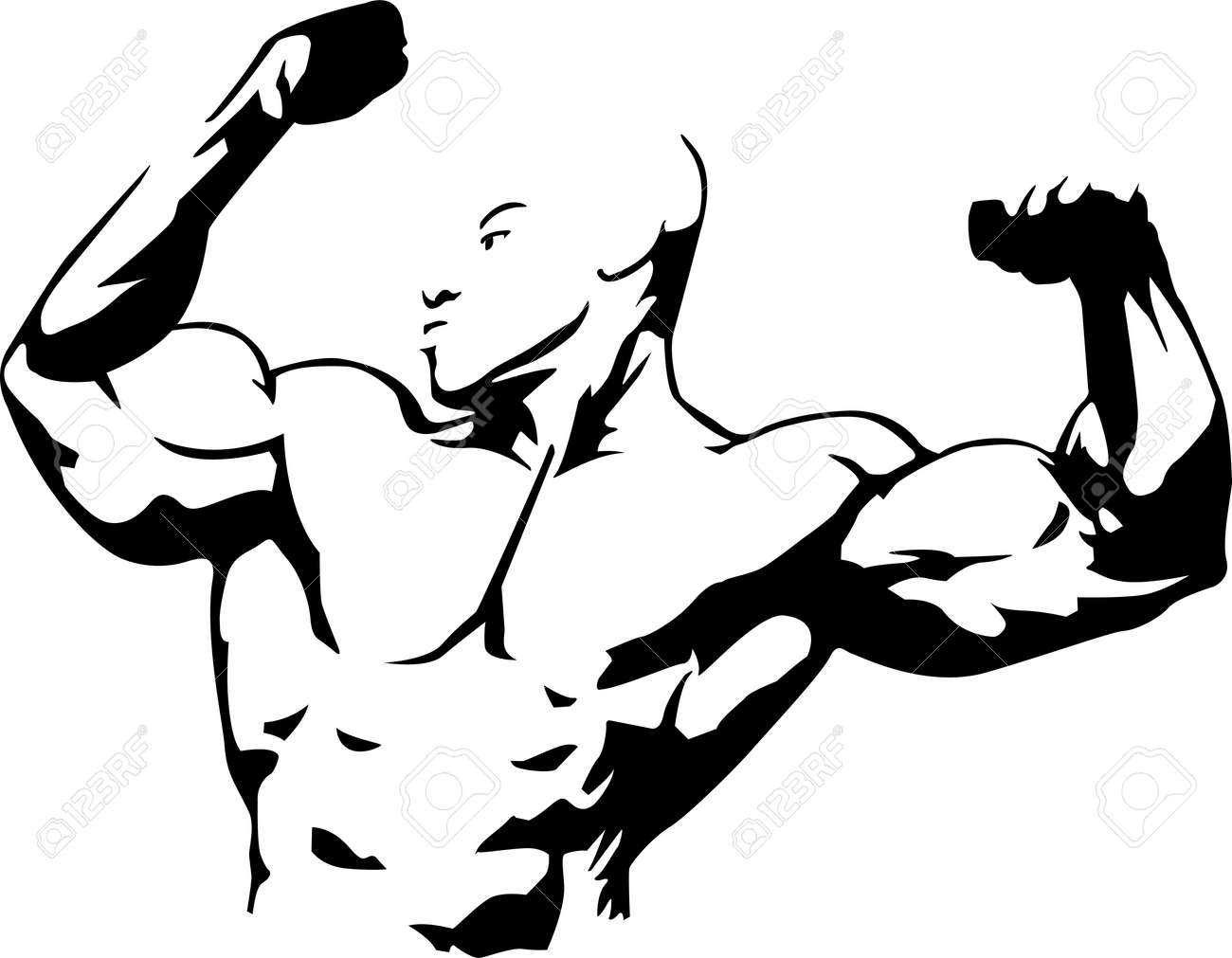 Vector Illustration of Muscle
