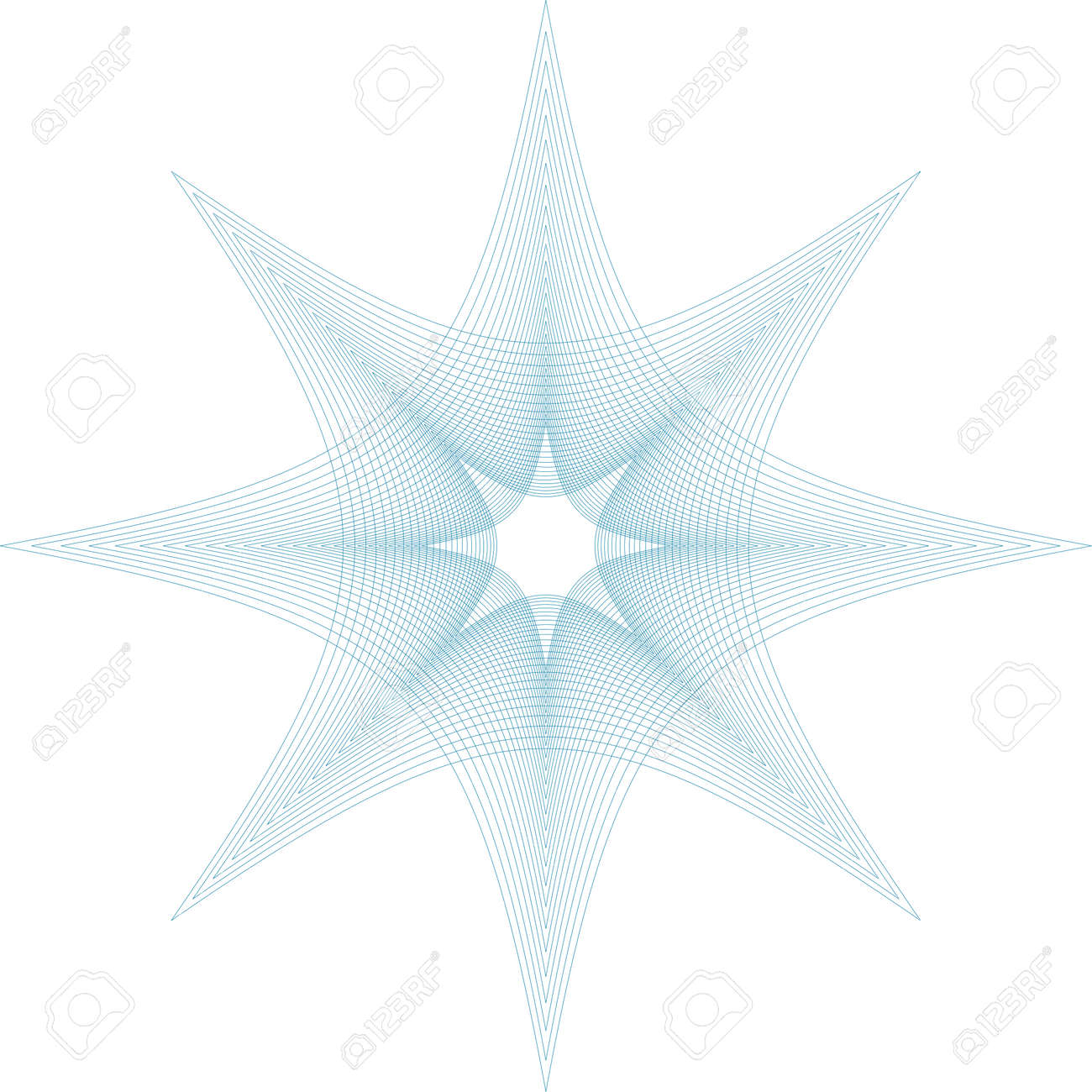 Editablbe gullioche vector pattern - 123438375