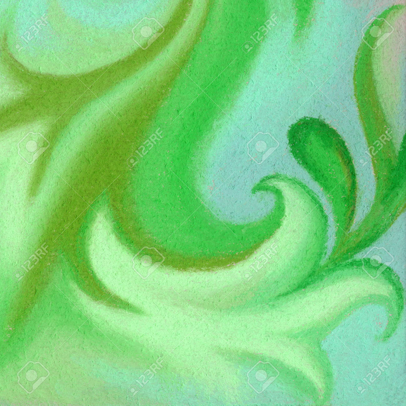 Abstract artistic background. Picture, pastel, hand-draw, painting on paper Stock Photo - 12007053