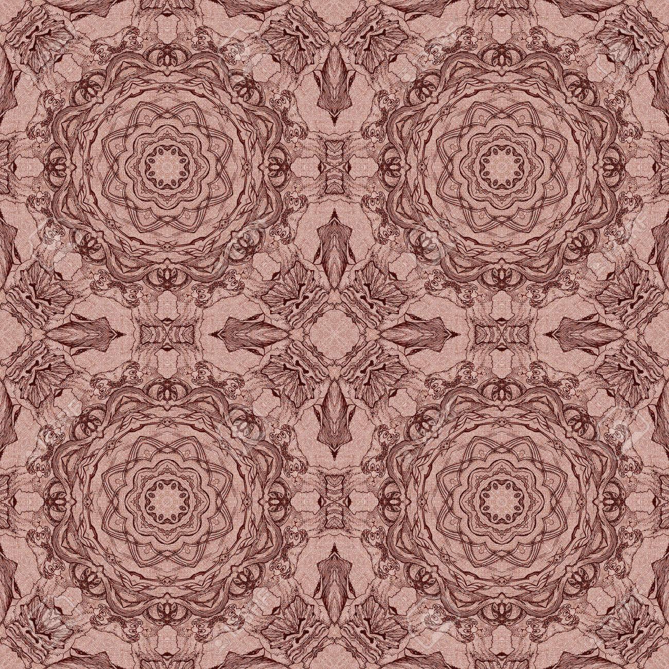 nahtlose knstlerischen hintergrund abstrakte grafische muster auf vintage leinwand standard bild 30168187 - Grafische Muster