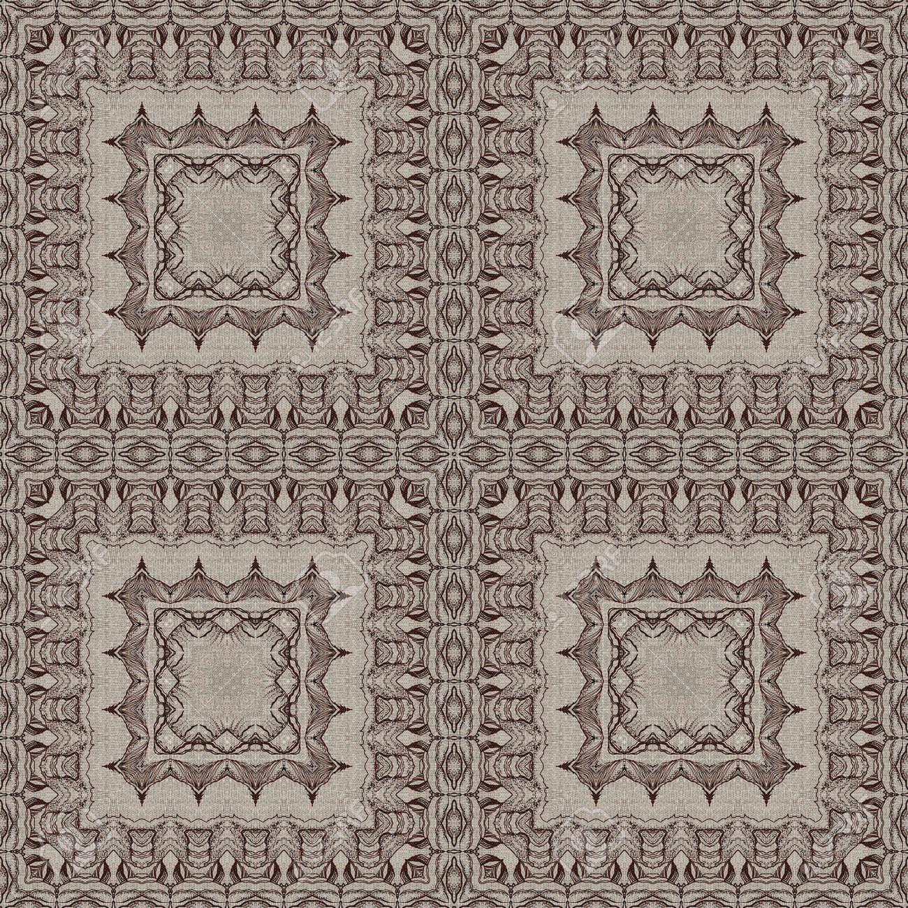 nahtlose knstlerischen hintergrund abstrakte grafische muster auf vintage leinwand standard bild 31236054 - Grafische Muster