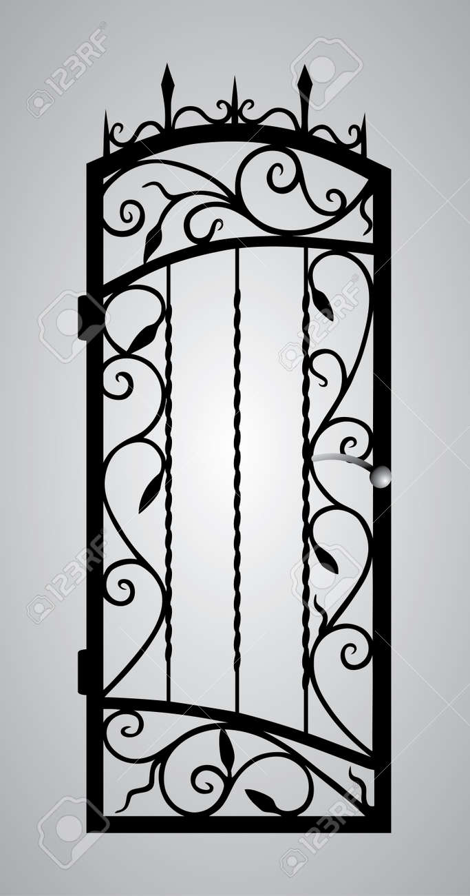Forged gate door - 21163449
