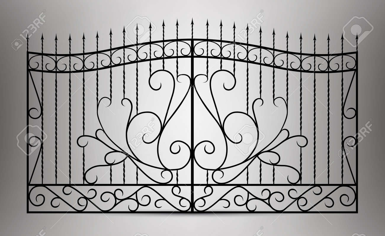 Forged gate - 21450765