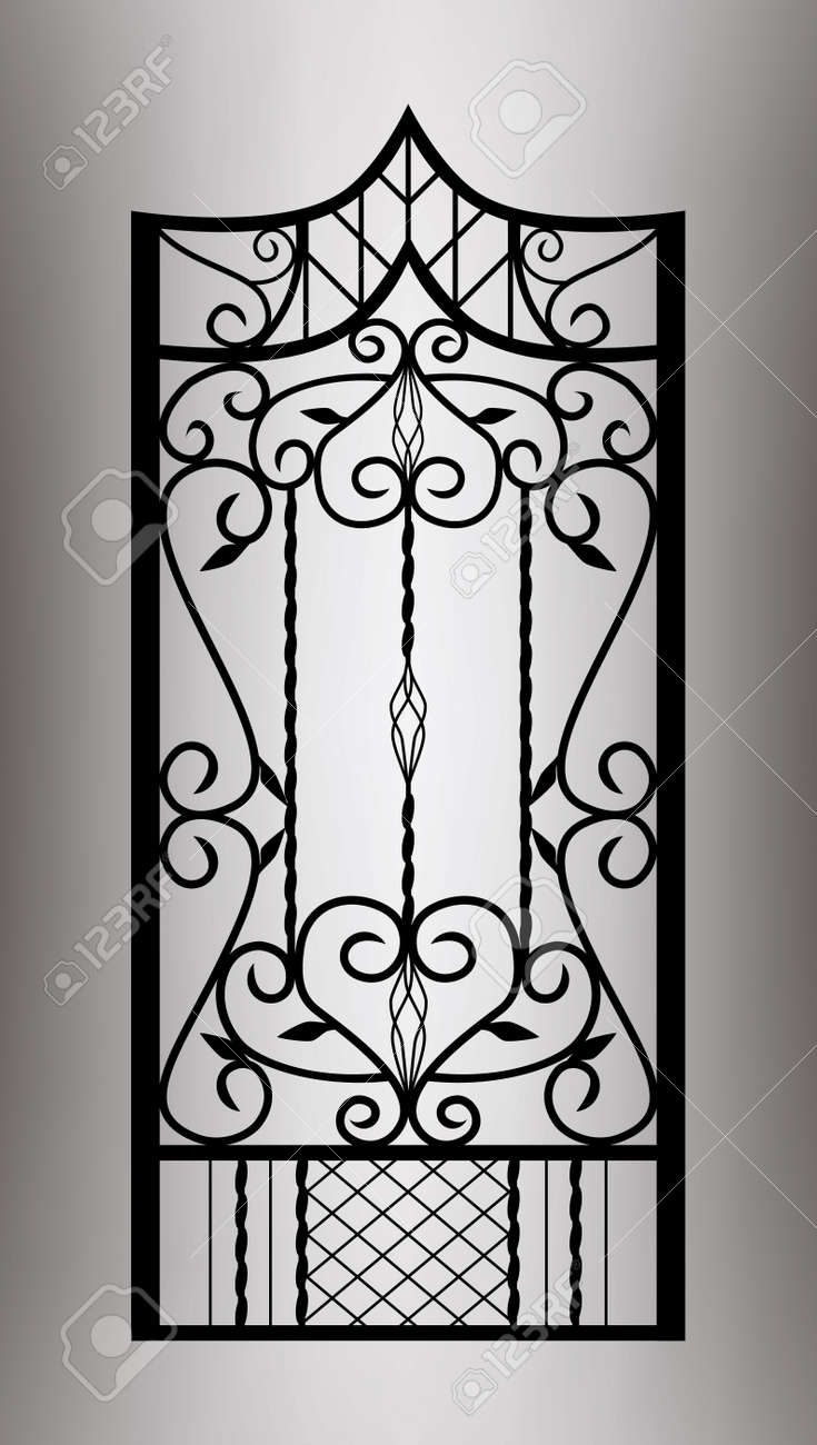 Forged gate door - 21747270