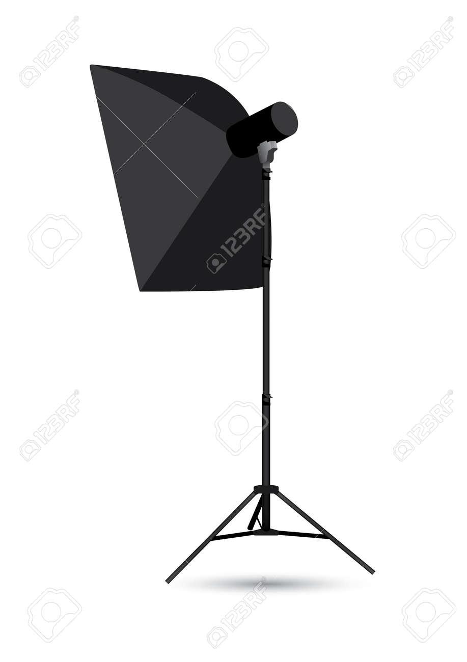 Studio lighting isolated on the white background - 22036695