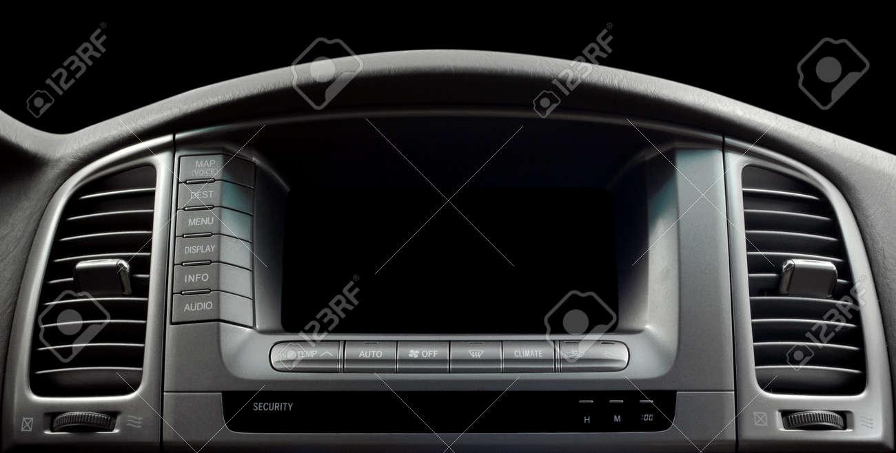 Modern car interior Horizontal - 22139735