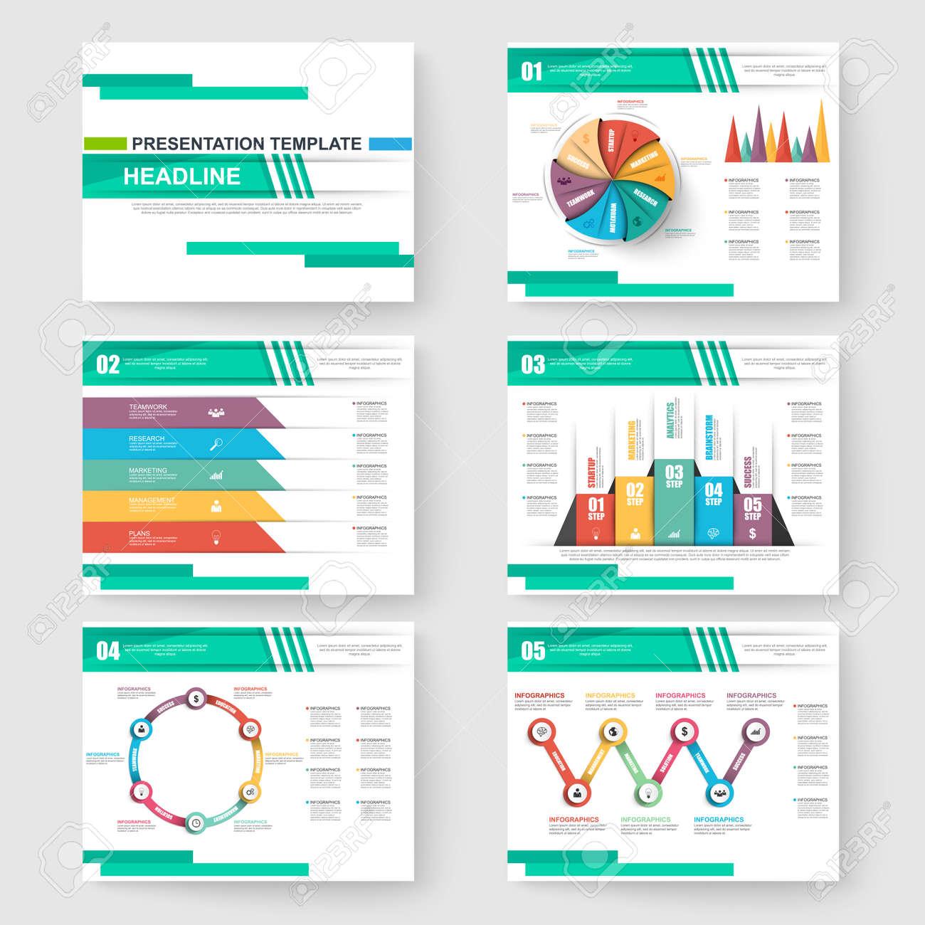 Conjunto De Presentación De Diapositivas Plantillas De PowerPoint Y ...