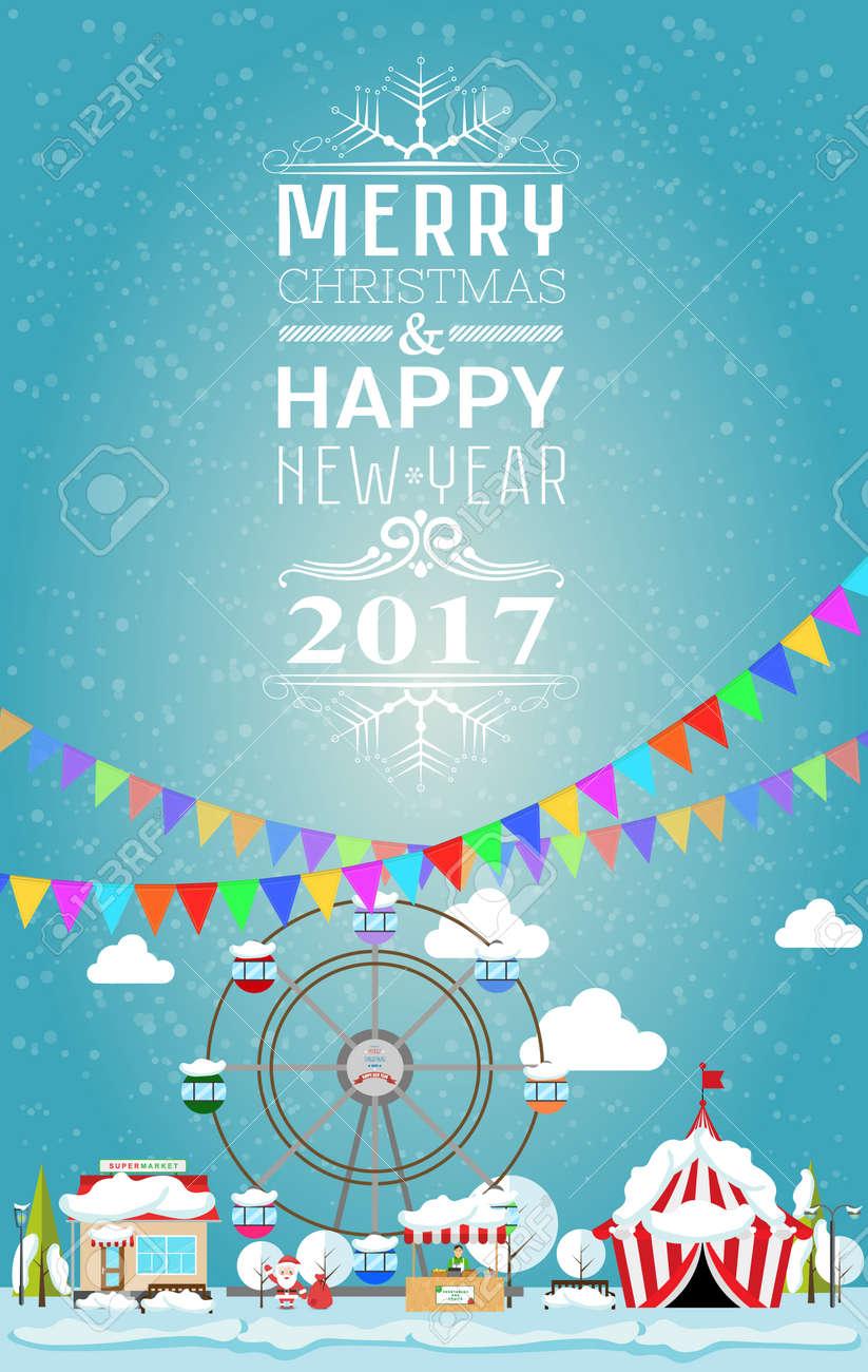 Happy New Year Invitation Card 4