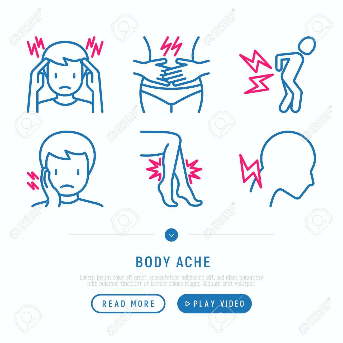 Body Pain Clip Art