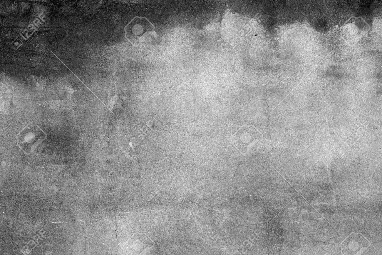 Grey Wall As In Horror Movie Old Concrete Wall Stock Photo ...