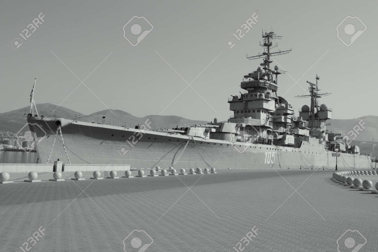 戦争船ポート軍事船桟橋、ノヴォ...