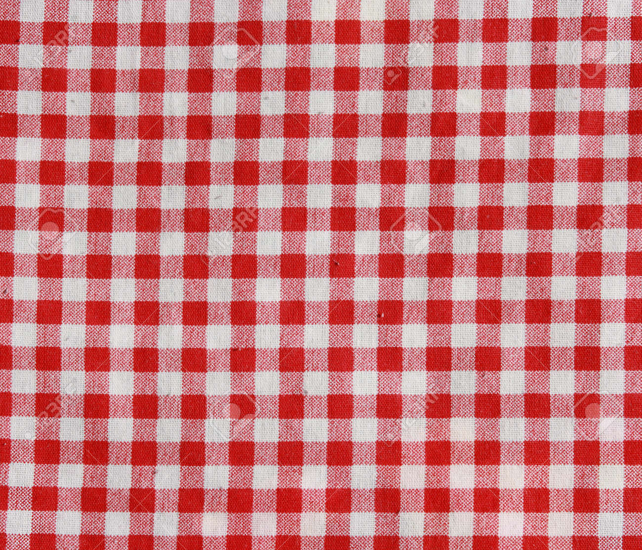 176478cafe2 Texture of a red and white checkered picnic blanket Red linen tablecloth  Stock Photo - 27712608