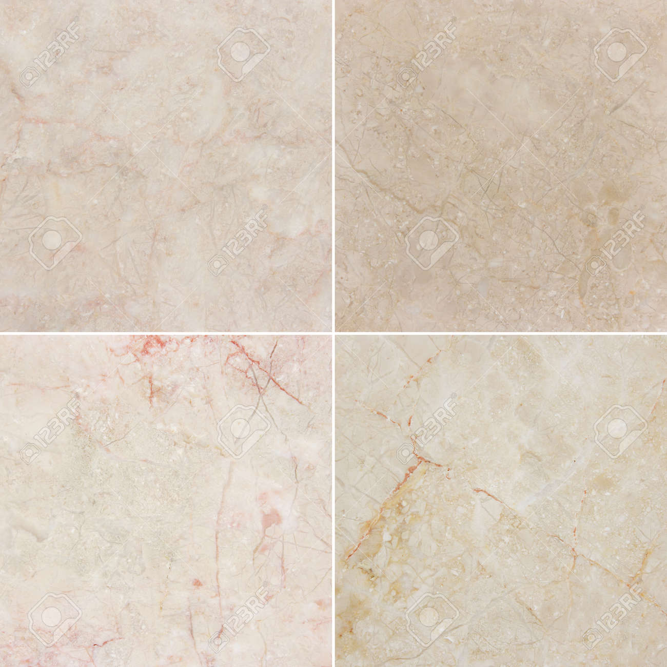 Four Images Of Marble Background With Natural Pattern Cream Stock Photo Picture And Royalty Free Image Image 45787722