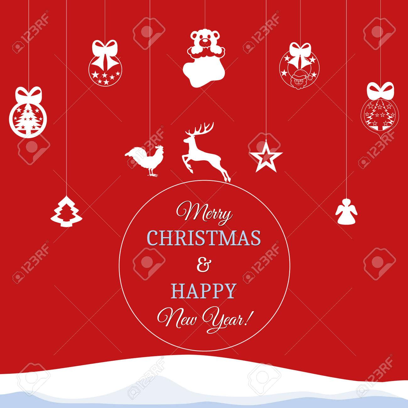 2017 Antecedentes Feliz Año Nuevo Para Sus Volantes Y Tarjeta De Felicitaciones Ideal Para Utilizar Para La Invitación De Las Partes Feliz Navidad Y