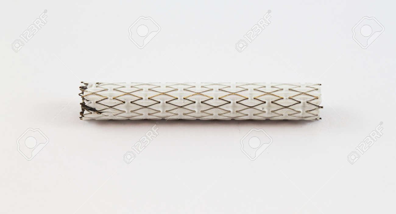 stent-graft for endovascular surgery Stock Photo - 15925842