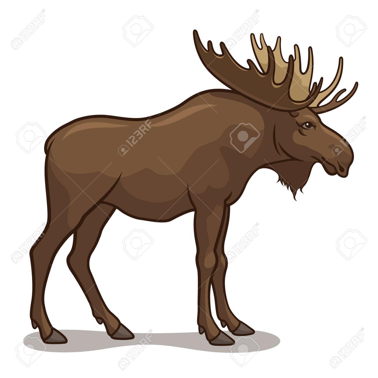 2,153 Elk Head Stock Vector Illustration And Royalty Free Elk Head ...