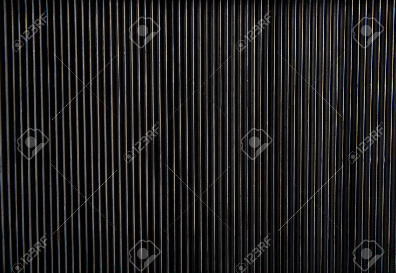 abstract metal lines background - 116678639