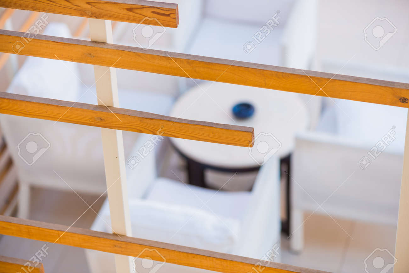 summer balcony lounge zone - 127951821