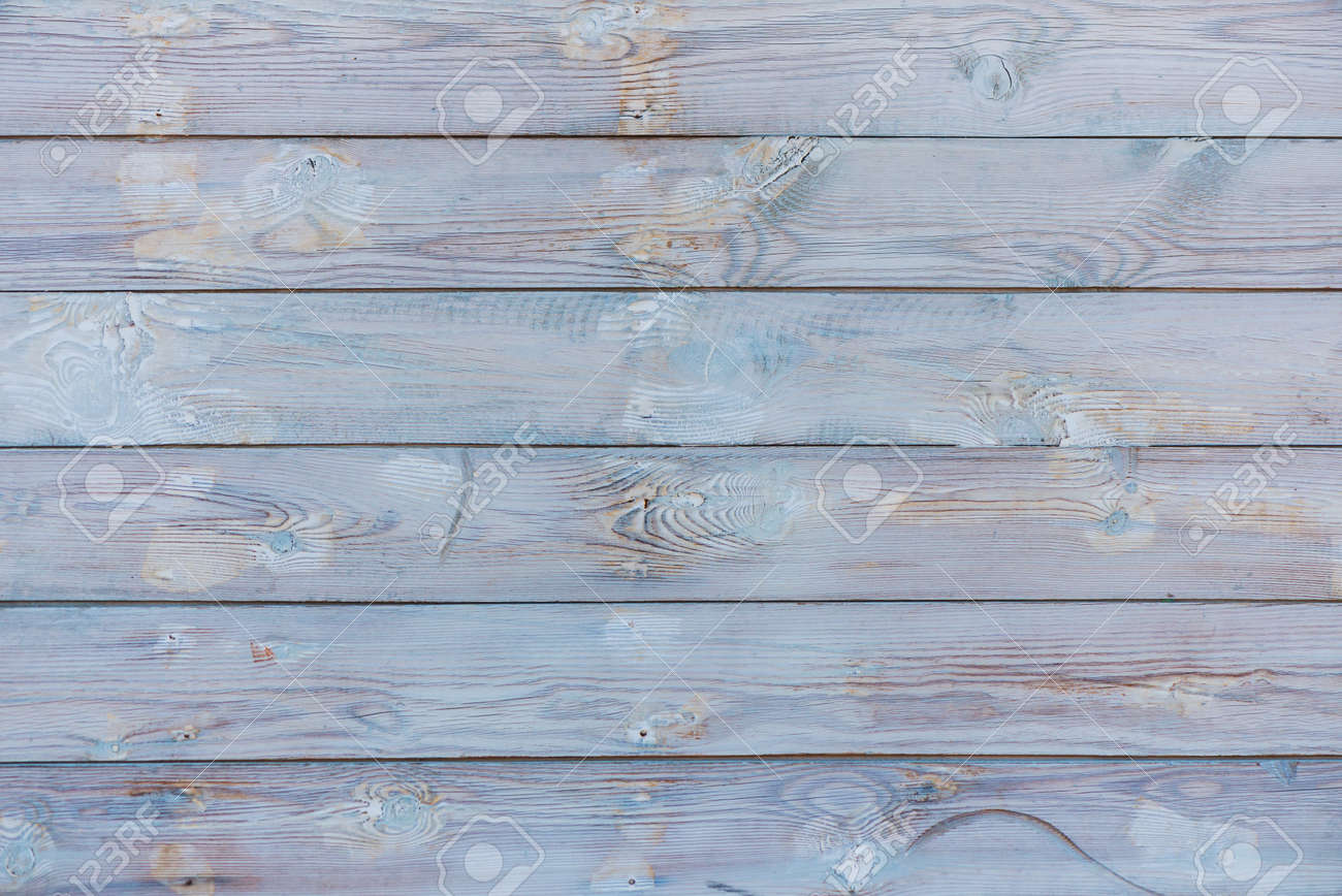 white wooden planks texture at sunset light - 127951823