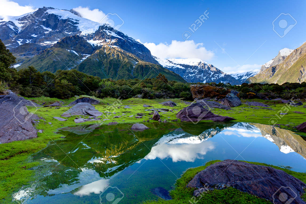 mountain reflections - 9233069