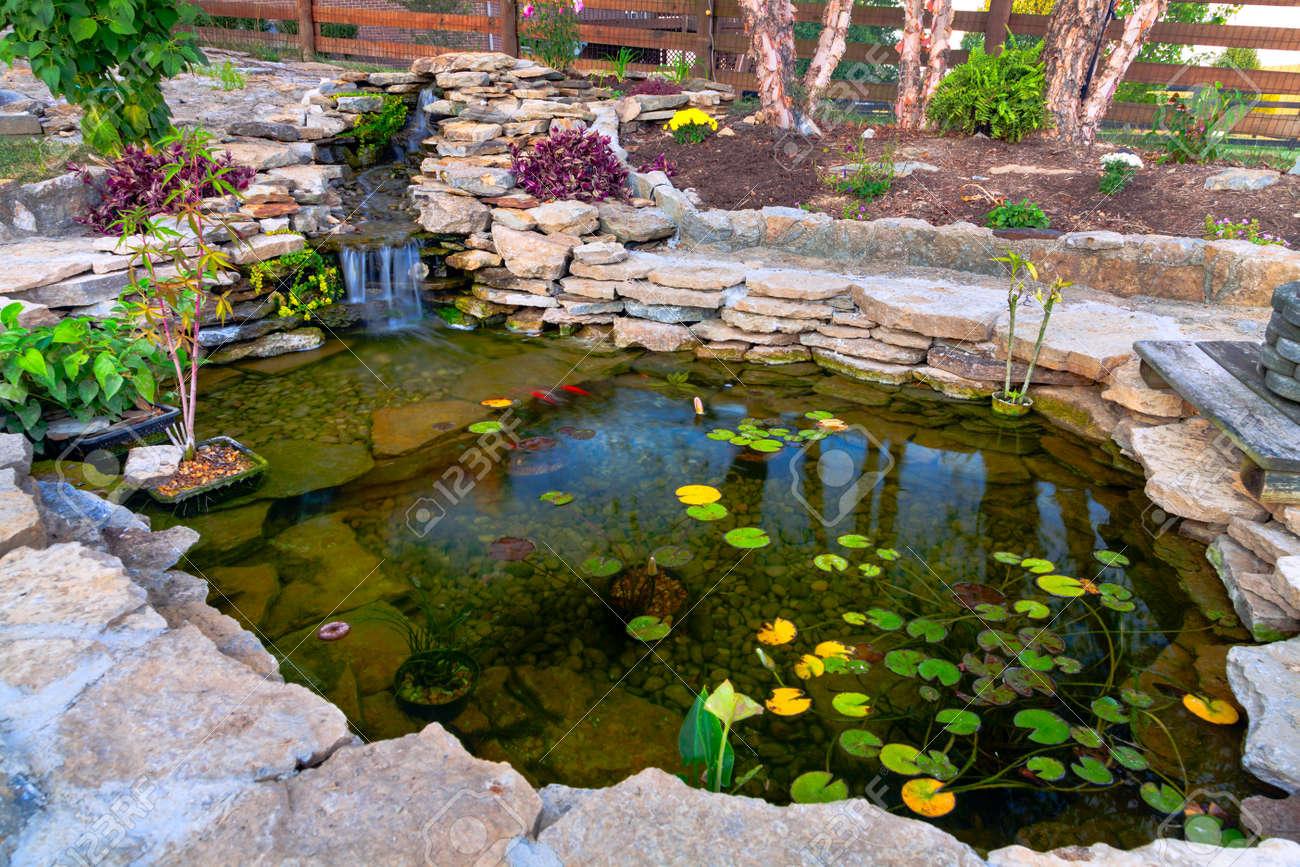 Decorative koi pond - 20215445