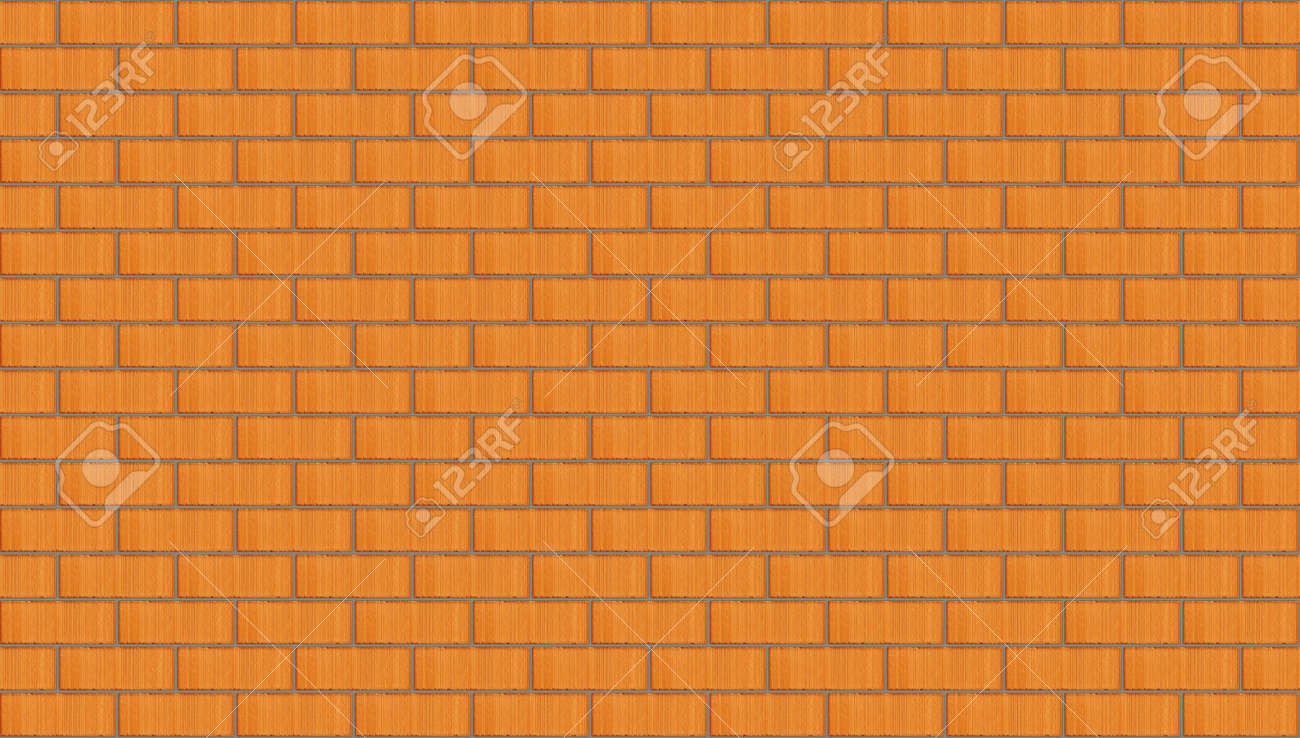 Red brick wall seamless background Stock Photo - 13634426