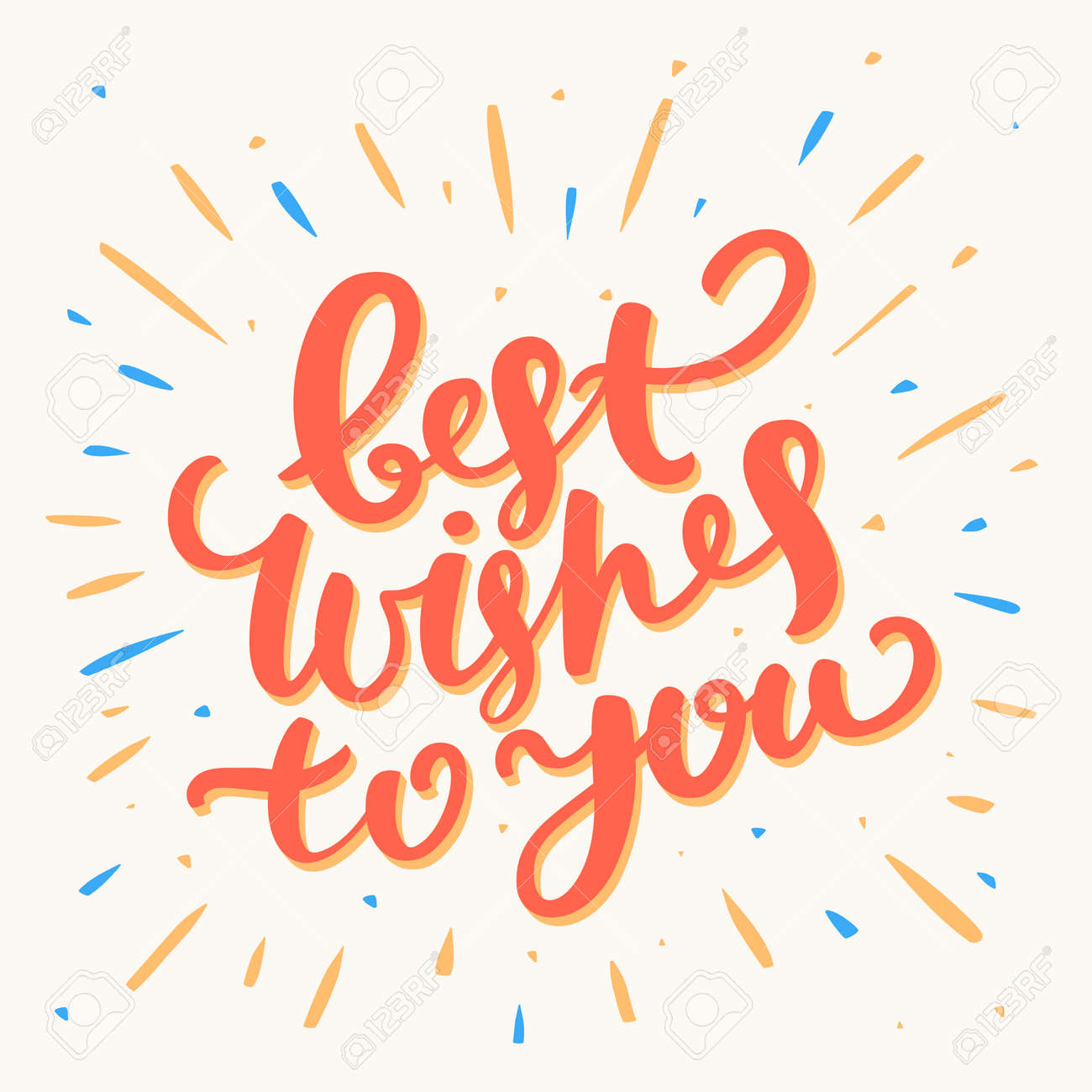 Best Wishes Stock Photos Royalty Free Business Images 47471450 Best Wishes  To You Hand Lettering Greeting Card Best Wisheshtml Exam Best Wishes Cards  Exam Best Wishes Cards