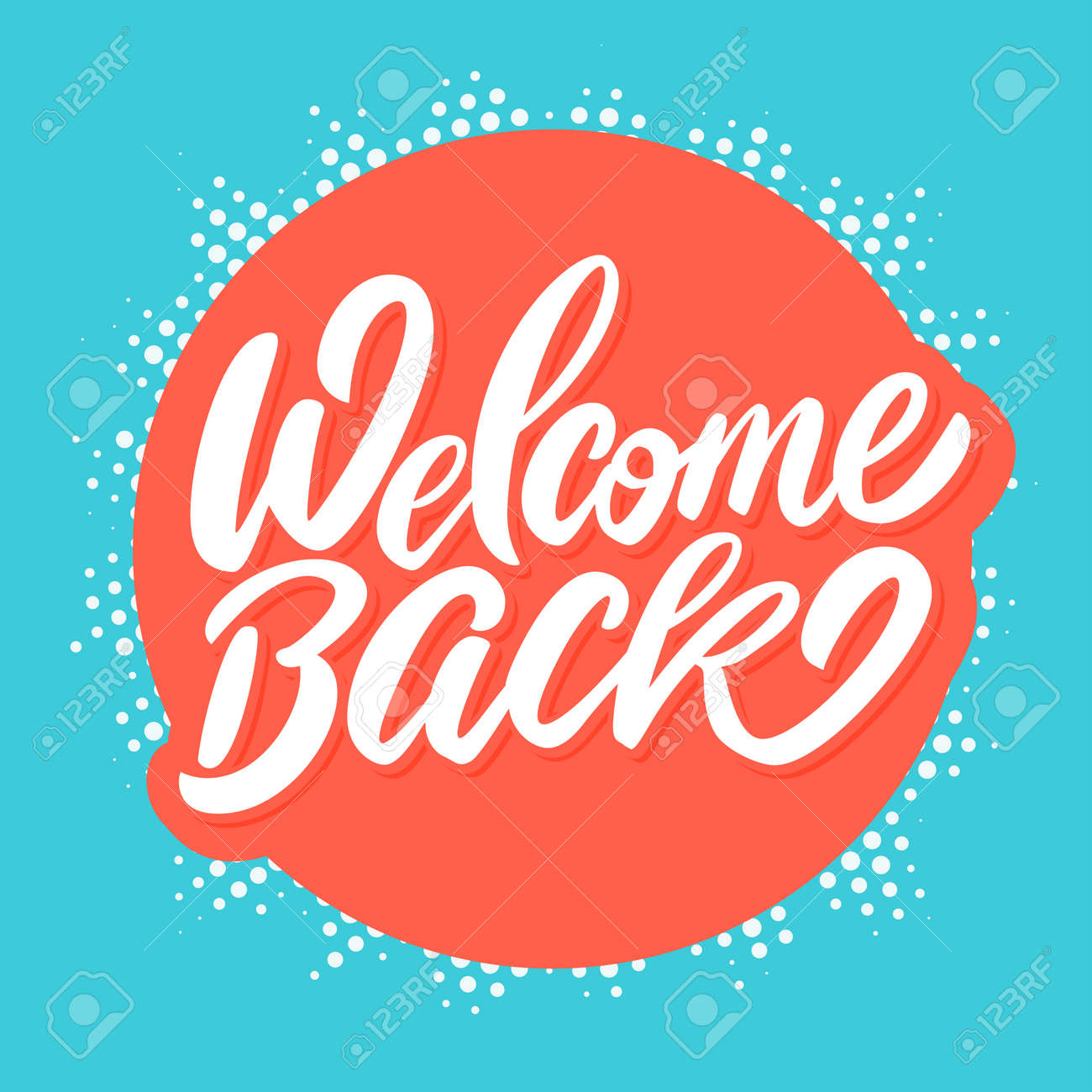 Welcome back banner. - 103778118