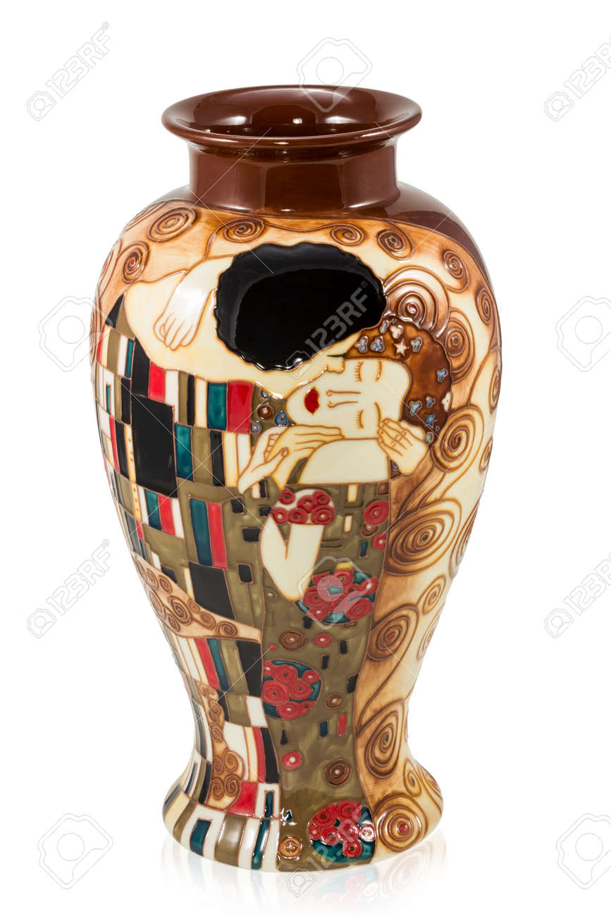 Big decorative vase for flowers with a picture a man kissing big decorative vase for flowers with a picture a man kissing a woman in the style reviewsmspy