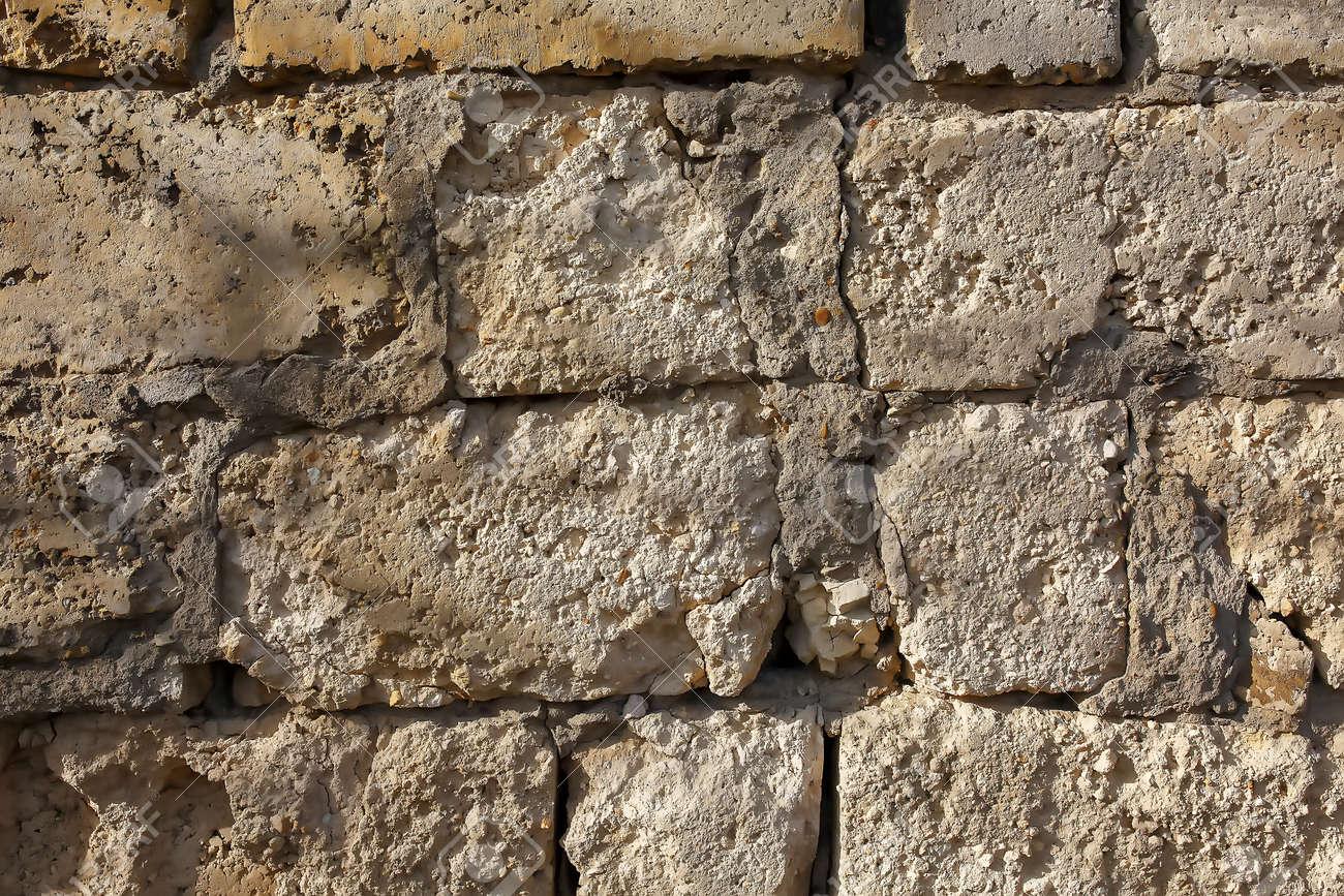 Natural Stone Facade Stone Texture Yellow Natural Stone Facade