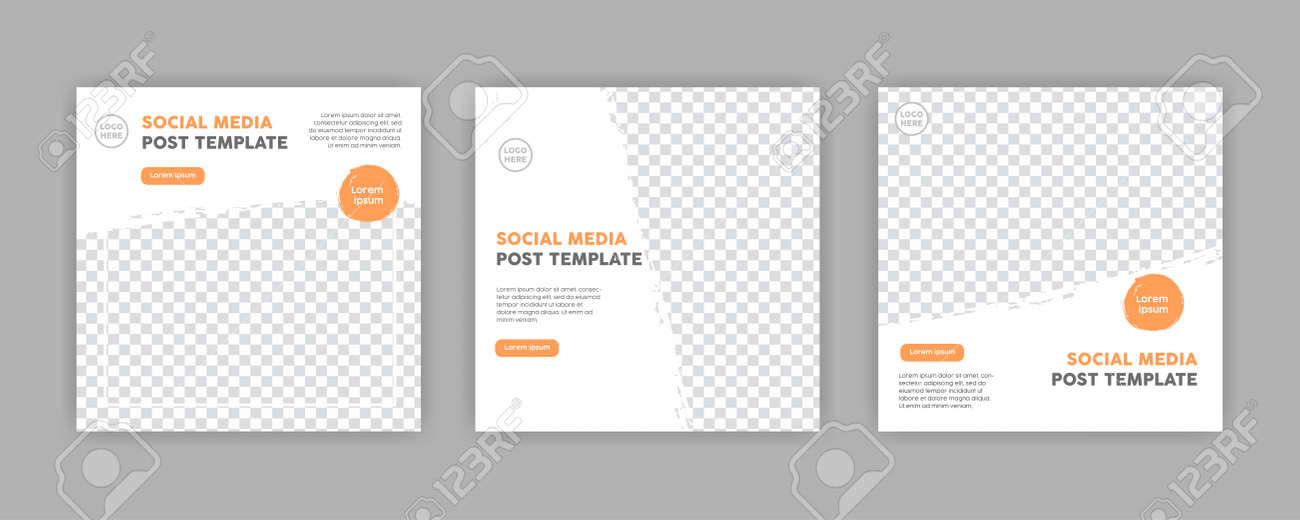 Modern Social Media banner template can be edited. Anyone can use this design easily. Promotional web banners for social media. Elegant sale and discount promo - Vector. - 152452461
