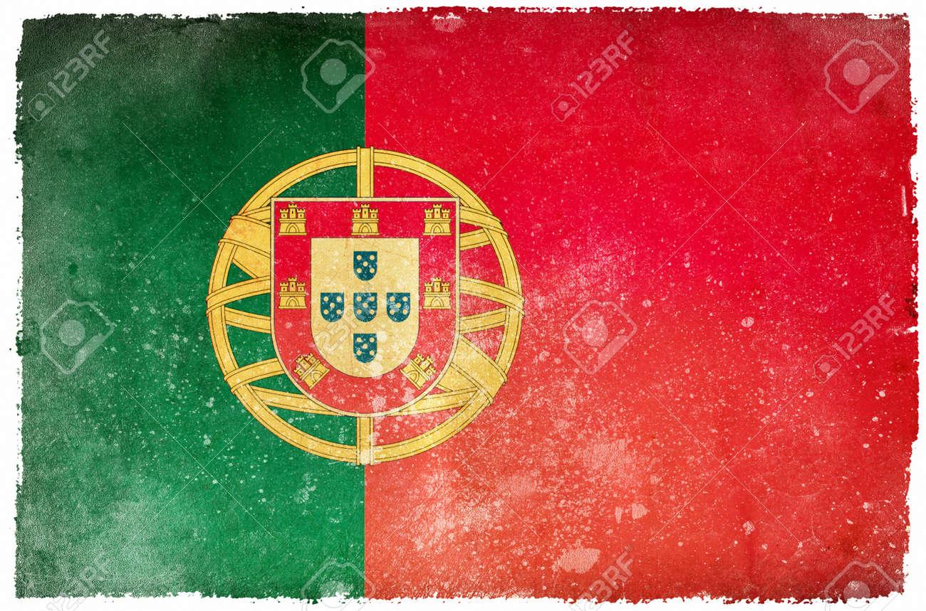 Portugal grunge flag Stock Photo - 12415420