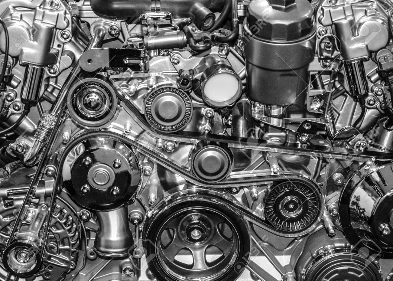 Sport Car Engine Stock Photo Picture And Royalty Free Image Image 16796209
