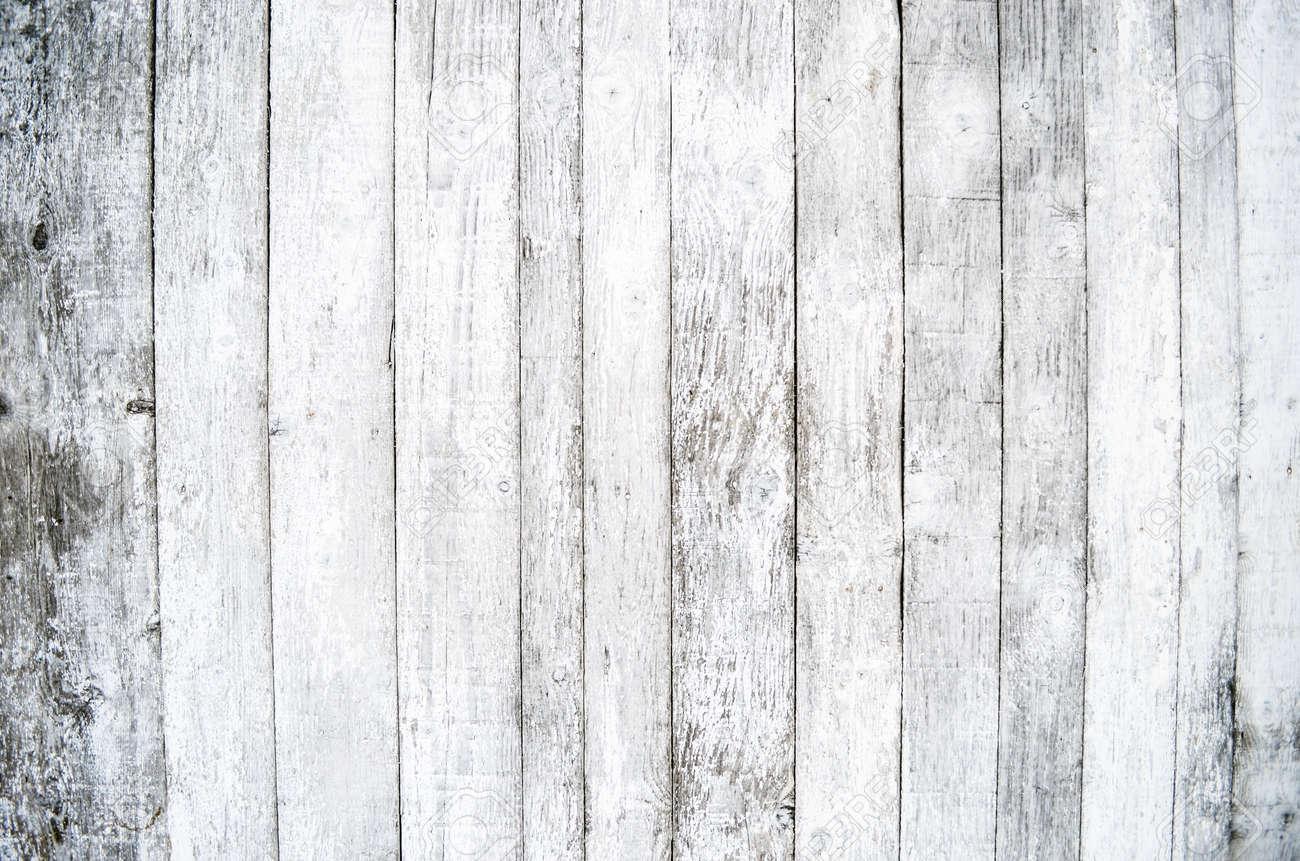White wood background Stock Photo - 17120058
