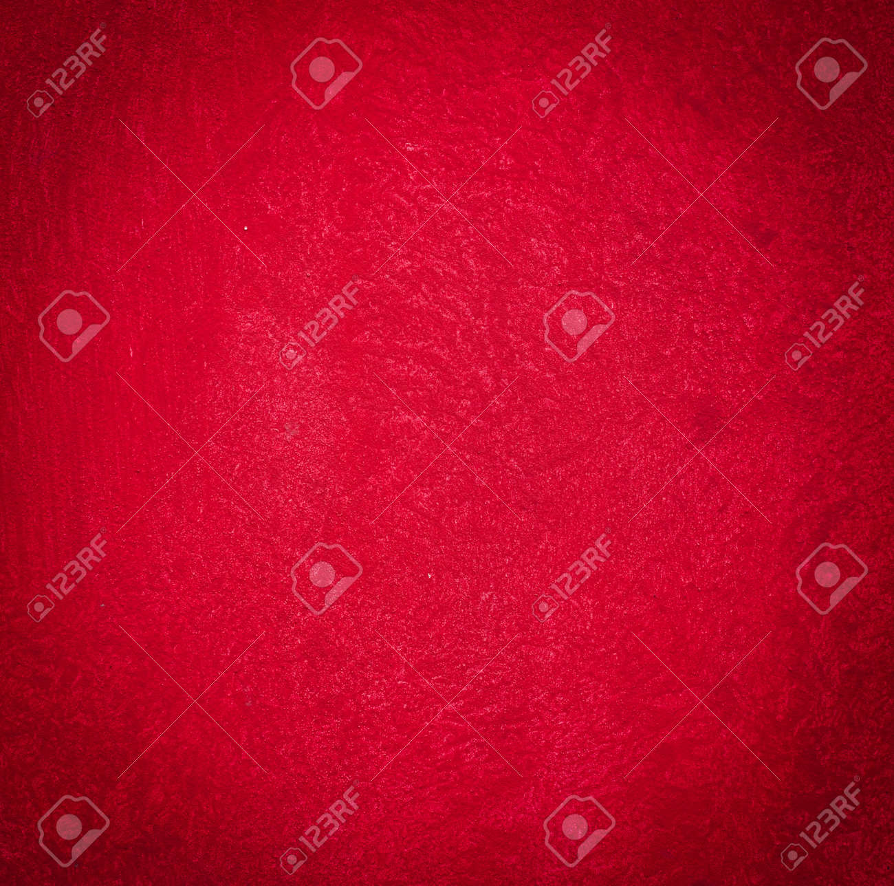 Grain Red Paint Wall Background Or Texture Stock Photo Picture And