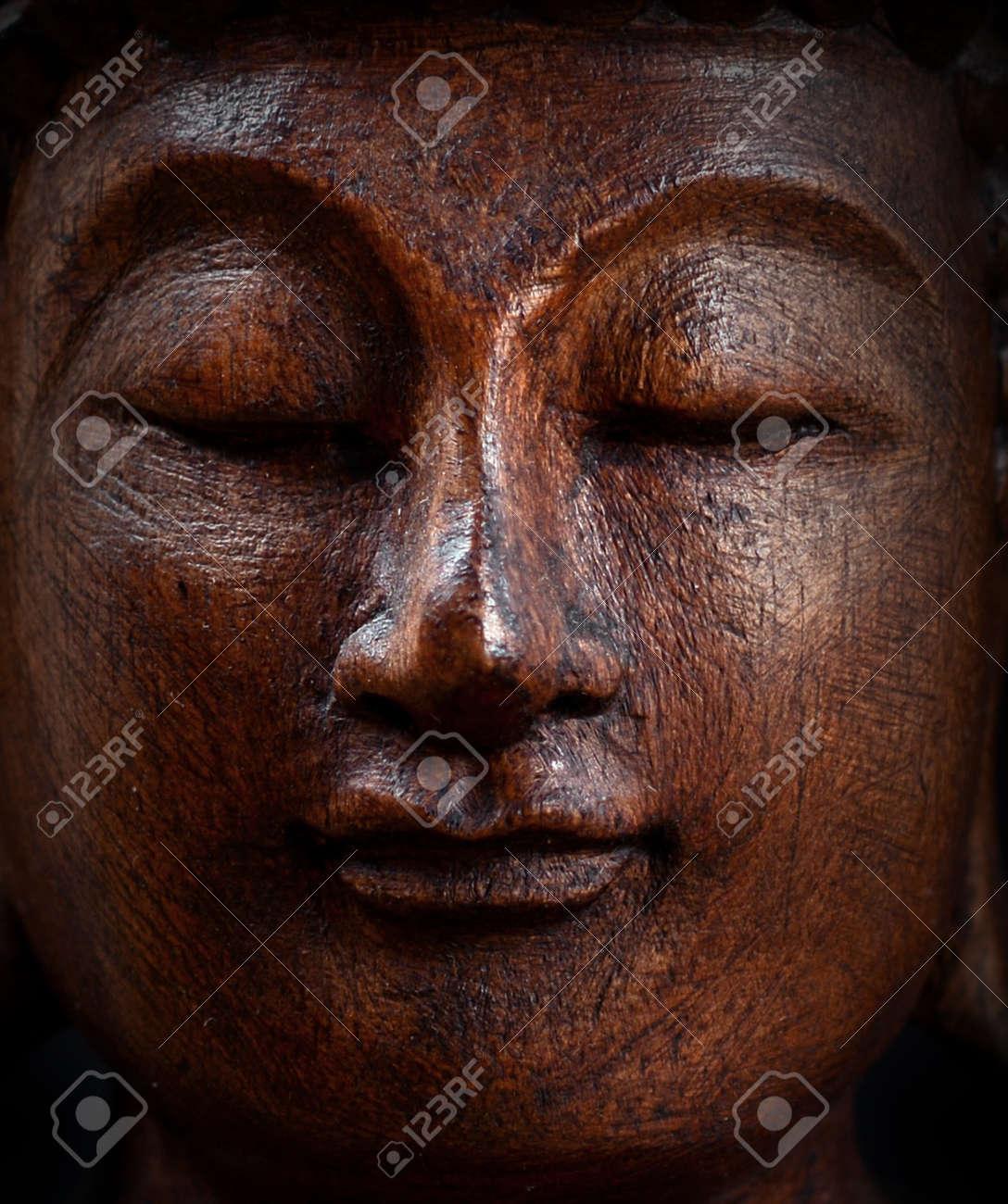 Buddha portrait closeup Stock Photo - 23738028