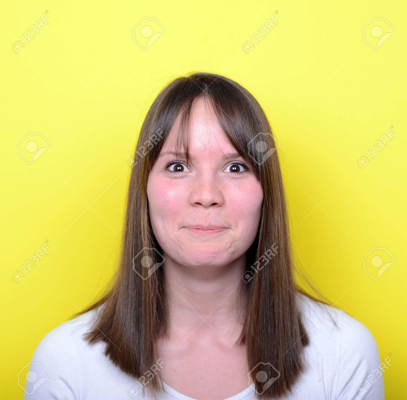 Portrait of girl blushing - 27774153