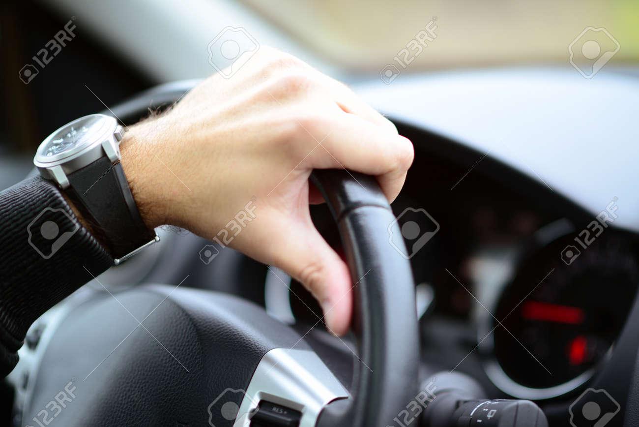 Man driving car concept - 29014618
