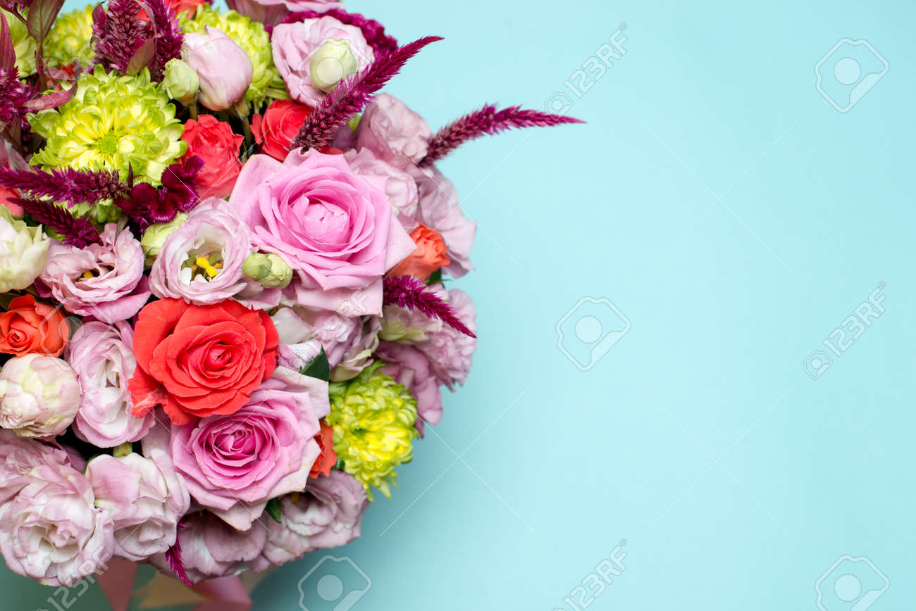 Beautiful floral arrangement pink and red rose pink eustoma beautiful floral arrangement pink and red rose pink eustoma yellow chrysanthemum on mightylinksfo