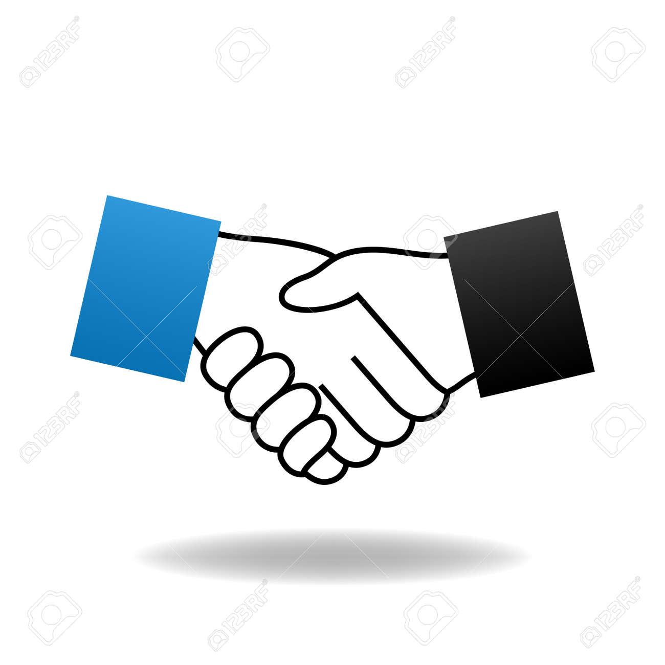 vector handshake icon royalty free cliparts vectors and stock rh 123rf com handshake vector icon free download handshaking vector