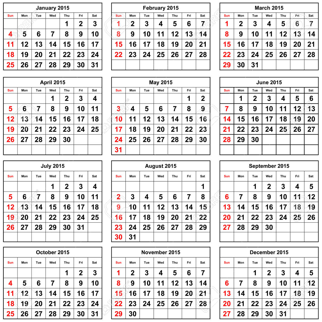 calendario anual 2015 - Gidiye.redformapolitica.co