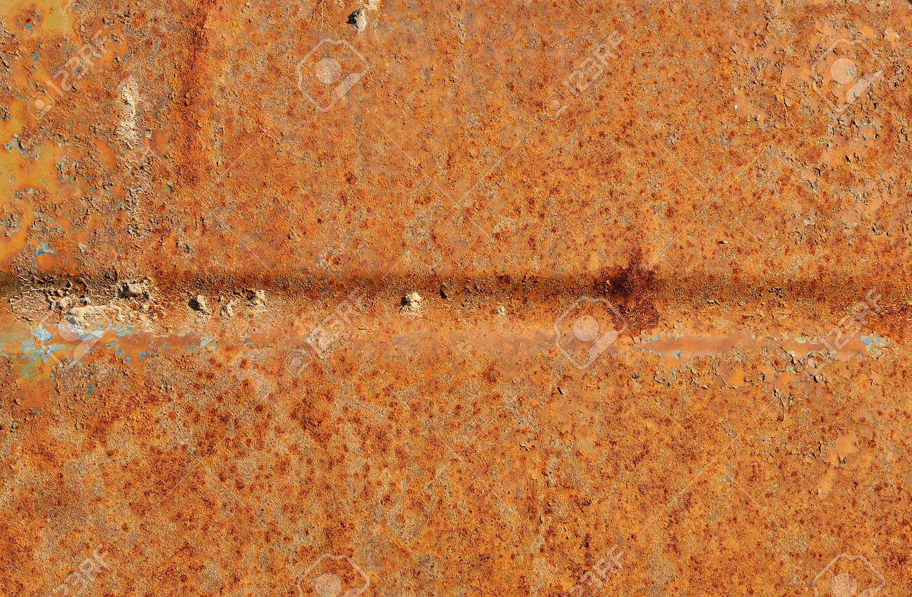Textured corroded textured rusty metal surface background Stock Photo - 13604906